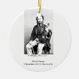Ornement Rond En Céramique Alfred Holmes