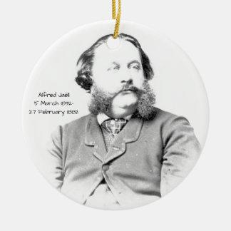Ornement Rond En Céramique Alfred Jaell