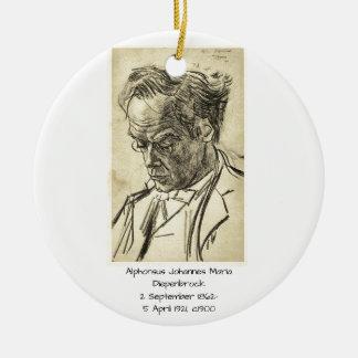 Ornement Rond En Céramique Alphons Johannes Maria Diepenbrock 1900