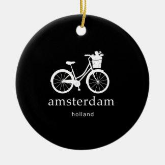 Ornement Rond En Céramique Amsterdam