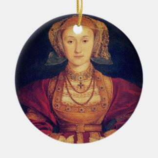 Ornement Rond En Céramique Anne d'ornement de Cleves