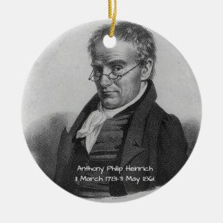 Ornement Rond En Céramique Anthony Philip Heinrich
