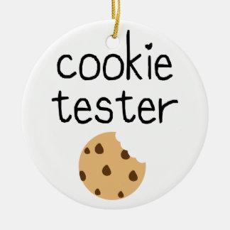 Ornement Rond En Céramique Appareil de contrôle de biscuit