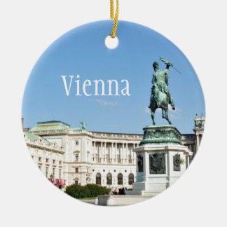 Ornement Rond En Céramique Architecture à Vienne, Autriche