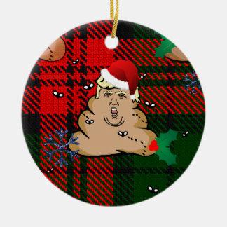 Ornement Rond En Céramique atout de décharge de Noël