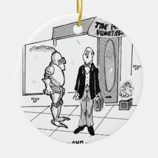 Ornement Rond En Céramique Bande dessinée 1769 de mode