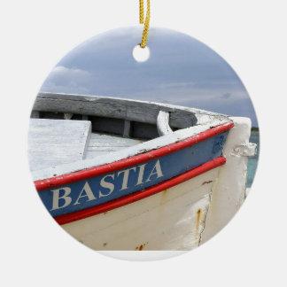 Ornement Rond En Céramique Bastia