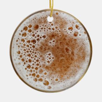 Ornement Rond En Céramique Bière