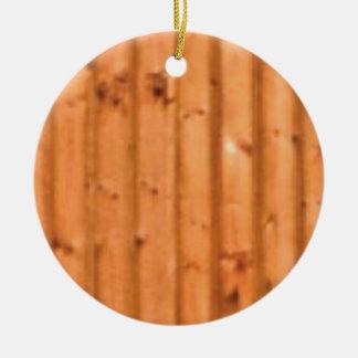 Ornement Rond En Céramique bois et défauts
