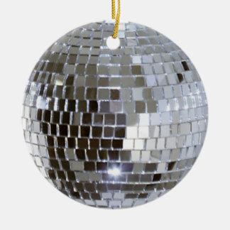 Ornement Rond En Céramique Boule reflétée 1 de disco