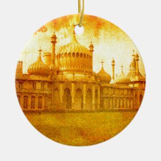 Ornement Rond En Céramique Brighton Pavillion royal