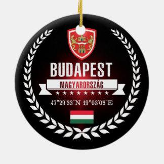 Ornement Rond En Céramique Budapest