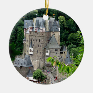 Ornement Rond En Céramique Burg Eltz, Allemagne