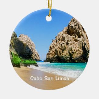 Ornement Rond En Céramique Cabo San Lucas
