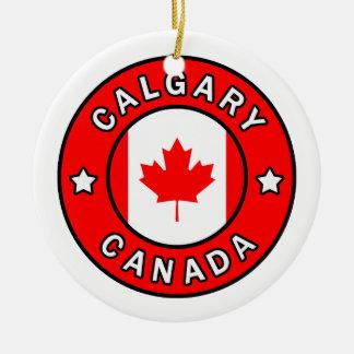 Ornement Rond En Céramique Calgary Canada