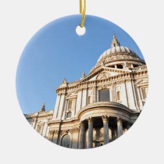 Ornement Rond En Céramique Cathédrale de Saint Paul à Londres, R-U