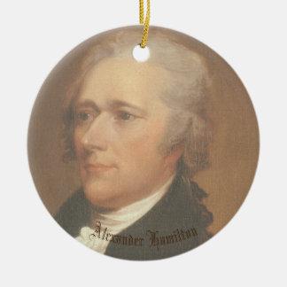 Ornement Rond En Céramique Cercle Ornamant de Hamilton