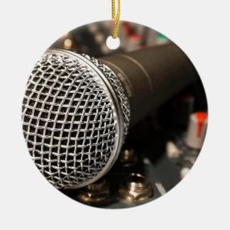 Ornement Rond En Céramique Chant de câble de microphone de câble de mélangeur