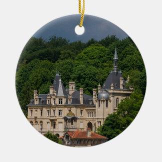 Ornement Rond En Céramique Château de Pierrefonds