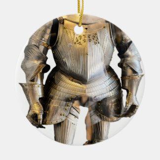 Ornement Rond En Céramique chevalier #2