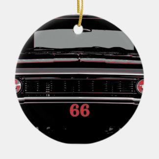 Ornement Rond En Céramique Chevelle 1966