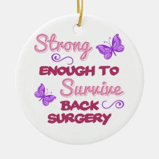 Ornement Rond En Céramique Chirurgie du dos forte