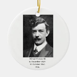 Ornement Rond En Céramique Colline 1906 d'Alfred Francis
