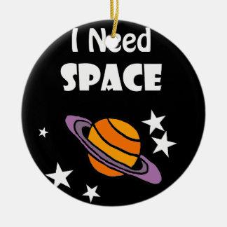 Ornement Rond En Céramique Conception d'art de l'espace du besoin de
