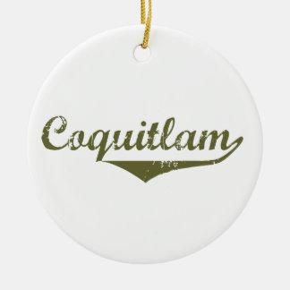 Ornement Rond En Céramique Coquitlam