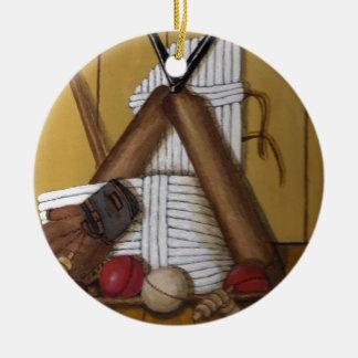 Ornement Rond En Céramique Cricket vintage