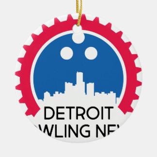 Ornement Rond En Céramique DetroitBowlingNews.com