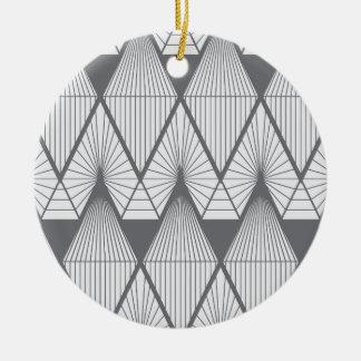 Ornement Rond En Céramique Diamants blancs