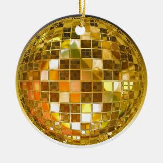 Ornement Rond En Céramique Disco de partie de lumière de danse de saut de
