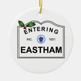 Ornement Rond En Céramique Eastham mA