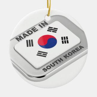 Ornement Rond En Céramique Fabriqué en Corée du Sud