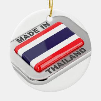 Ornement Rond En Céramique Fabriqué en Thaïlande