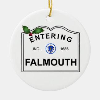 Ornement Rond En Céramique Falmouth mA