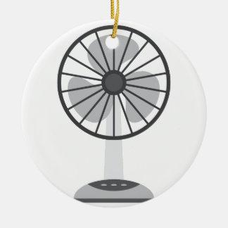 Ornement Rond En Céramique Fan de bureau