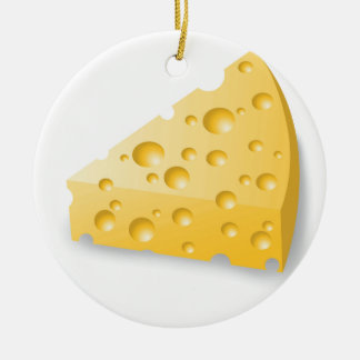 Ornement Rond En Céramique fromage
