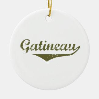Ornement Rond En Céramique Gatineau