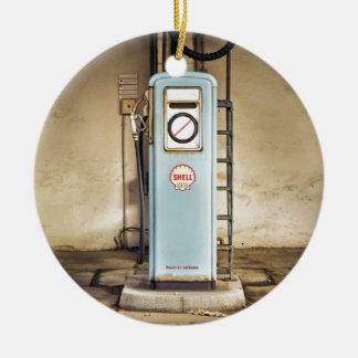 Ornement Rond En Céramique gaz-pompe