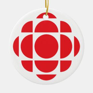 Ornement Rond En Céramique Gemme de CBC/Radio-Canada
