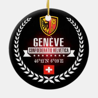 Ornement Rond En Céramique Genève
