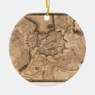 Ornement Rond En Céramique Genève Suisse 1773