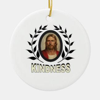 Ornement Rond En Céramique gentillesse Jésus
