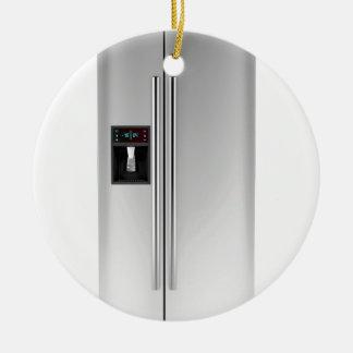 Ornement Rond En Céramique Grand réfrigérateur