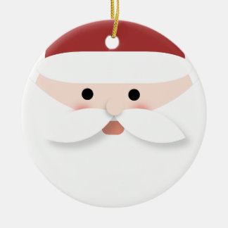 Ornement Rond En Céramique Guirlande de Noël