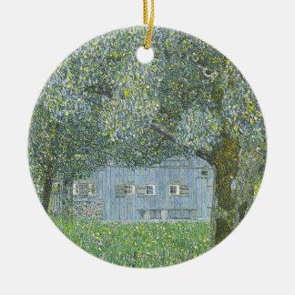 Ornement Rond En Céramique Gustav Klimt - Bauerhaus dans la peinture de