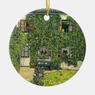 Ornement Rond En Céramique Gustav Klimt - la Chambre de Guardaboschi