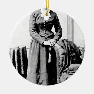 Ornement Rond En Céramique Harriet Tubman